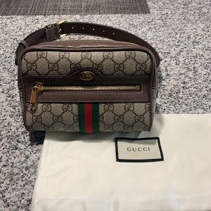 Gucci Ophidia Belt Gg Coated Small Size 75